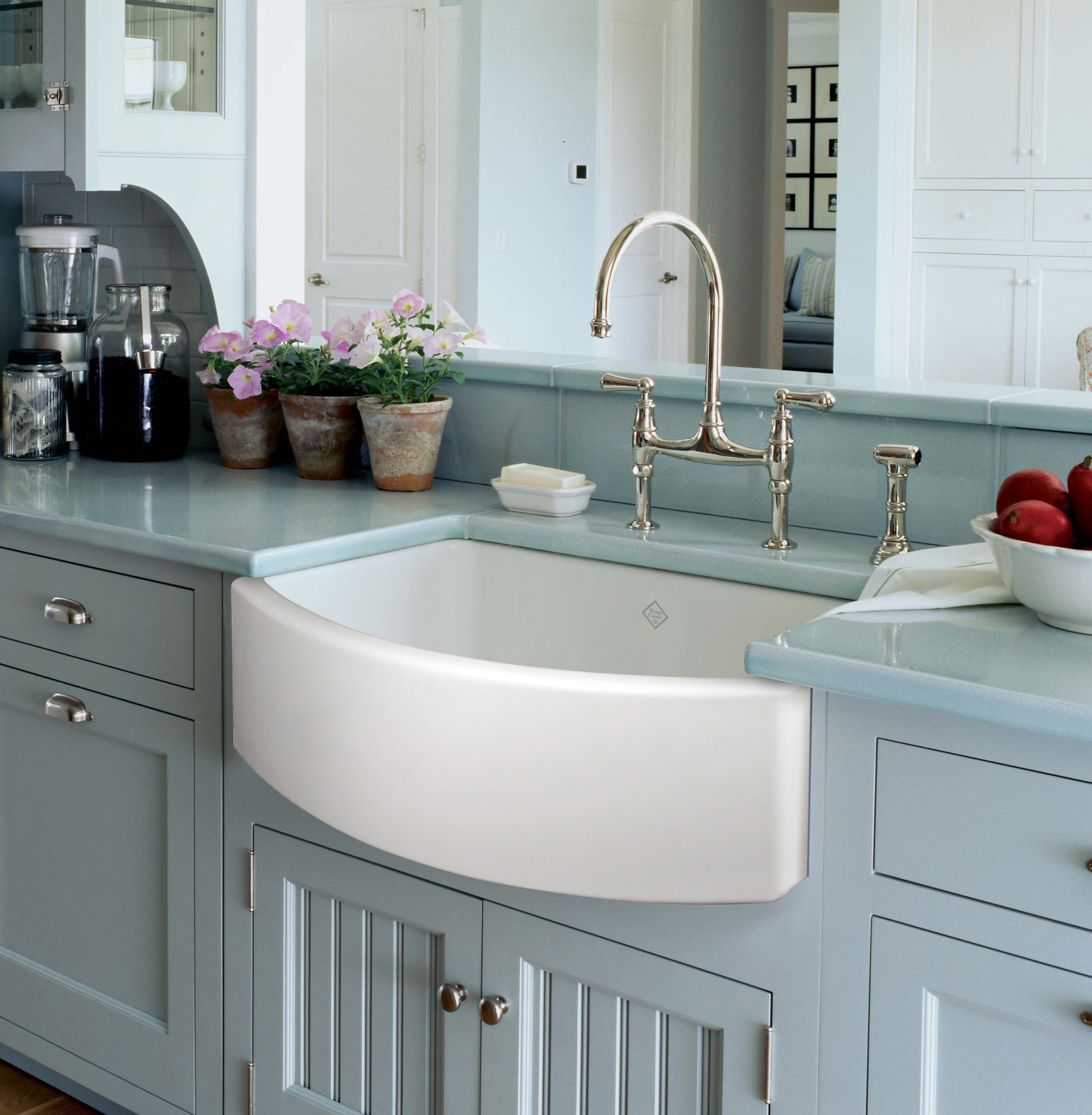 New Rohl Shaws Waterside Fireclay Sink Wins Best Kitchen Product Gold Award In Best Of Kbis 2013 Awards Kbis