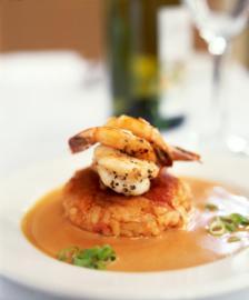 """""""med_crab-cake-with-shrimp-sarah-essex"""""""