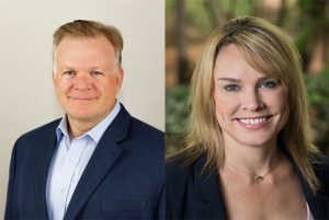 Headshots for Jason McGraw and Amy Hornby with KBIS and CEDIA Expo