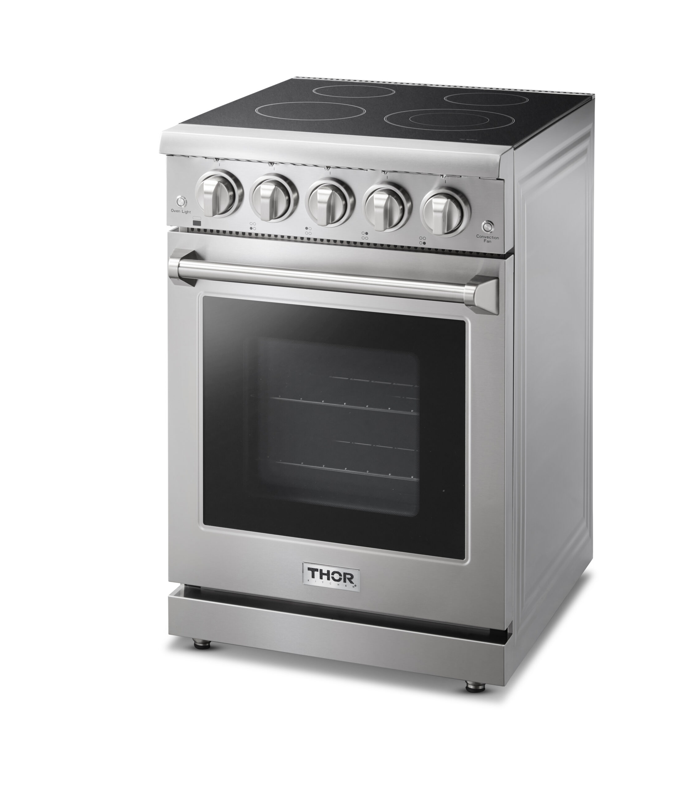 THOR Kitchen's new 24-inch Professional Electric Range offers clean-energy option perfect for small home living